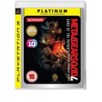 Metal Gear 4 Of The Patriots Platinum PS3 (Pre-Owned)