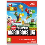 New Super Mario Bros Nintendo Wii (Pre-Owned)
