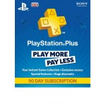 Playstation Plus 90 Day Subscription PS4